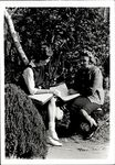 Student with Faculty Member, Admin Faculty ca. 1950s - 60s