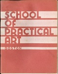 School of Practical Art Course Catalog (1944-1945) by School of Practical Art