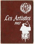 Les Artistes Yearbook, 1967 by School of Practical Art