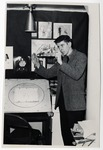 Carroll Spinney at J.R Productions, ca. 1965 by School of Practical Art