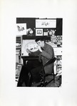 Carroll Spinney at James Radio Productions, ca. 1965 by School of Practical Art