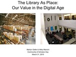 Library As Place