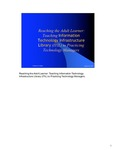Reaching the adult learner: Teaching Information Technology Infrastructure Library (ITIL) to practicing technology managers