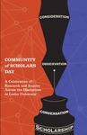 2016 Community of Scholars Day Program by Lesley University