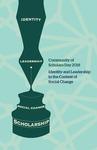 2018 Community of Scholars Day Program by Lesley University
