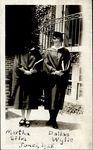 Martha Silva and Dallas Wylie