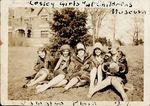 Lesley Girls at childrens museum, Jamaica Plain