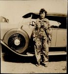 Beatrice Grant Gellerson with automobile