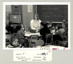 Student Teaching, 1984