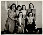 Group portrait of six women