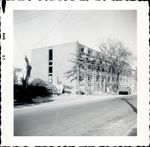 Street view of construction of Trentwell Mason White Hall