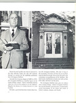 Page 14 of the Fall 1962 Lesley Review featuring a photograph of Livingston Stebbins and the facad of the Livingston Stebbins Hall by Lesley College