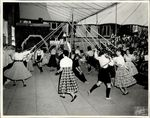 May Day, May Pole Dance, 1958 copy 1 by Hookaile Studio