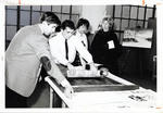 Printmaking Class, 1965