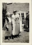 Edith Lesley Wolfard and Gertrude Malloch, June, 1933 by Lesley University