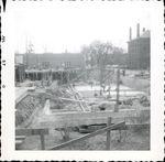 Construction of Trentwell Mason White Hall foundation