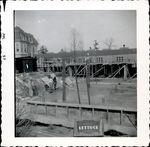 Construction of Trentwell Mason White Hall foundation 2