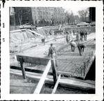 Construction of Trentwell Mason White Hall foundation 5