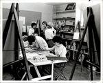 Art Room in Fine Arts Building, 1958