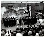Student Choir Perform, May Day ca. 1960s by Paul Allard