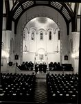Graduates Looking On From the Pews, Commencement ca. 1950s - 60s