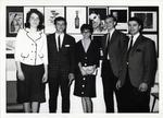 Caroline Albert, Aleta Gusto and Classmates at Award Ceremony, ca. 1960s by Art Institute of Boston