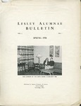 Lesley Alumnae Bulletin Vol.1 (Spring 1958) by Lesley College