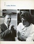 Lesley Review (Winter 1966) by Lesley College