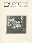 Lesley College Current (January-February, 1972) by Lesley College