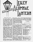 Lesley Alumnae Lantern (May 1949)