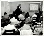 Speaking to the Social Science Class, ca. 1962 by Paul Allard