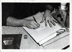 School of Practical Art student working on some hand lettering by School of Practical Art