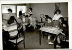 Activity in the Lounge, Student Life ca. 1950s