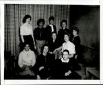 Nine Students and an Older Teacher, Student Groups ca. 1950s