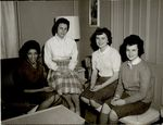Four Students, Student Groups ca. 1950s