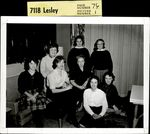 Seven Students and a Faculty Member, Student Groups ca. 1950s