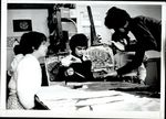 Painting with the Children, Student Teaching ca. early 1960s