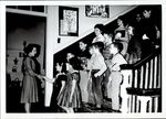 Children Descending the Staircase, Student Teaching ca. early 1960s