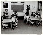 Elementary Classroom, Student Teaching ca. early 1960s by Paul Allard