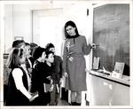 Children Learning from the Chalkboard, Student Teaching ca. early 1960s