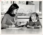 A Teacher and Student Working Together, Student Teaching ca. early 1960s