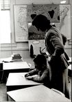Student and Teacher In Classroom, Student Teaching ca. early 1960s
