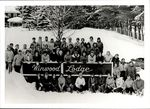Students Gathered at Winwood Lodge , Student Life, ca. 1950s - 60s