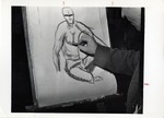 Student Sketching by School of Practical Art