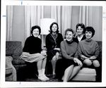 Oxford Hall Staff, Student Groups ca. 1963
