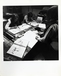 Group of Students Working at Their Desk by Robert P. Foley Photographer