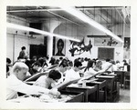 Classroom of Students Working at Their Desk by School of Practical Art