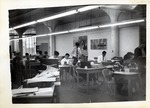Classroom of Students Working at Their Desk