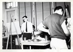 Students Paint at Their Easel by School of Practical Art
