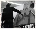 Richard Piampiano Painting in Class